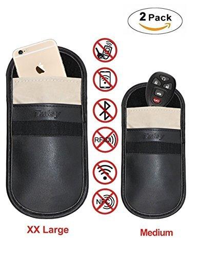 Faraday Bag, Wisdompro RFID Signal Blocking Bag Shielding Pouch
